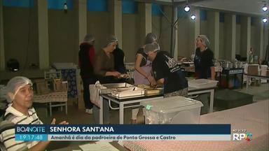 Amanhã (26) é dia da padroeira Senhora Sant'Ana - Senhora Sant'Ana é a padroeira de Ponta Grossa e Castro. Veja como vão ser as comemorações.