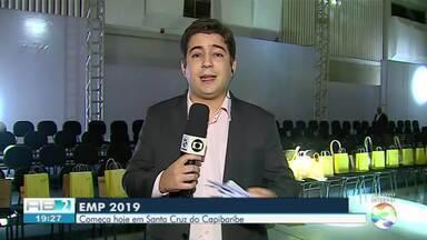 Remir Freire mostra movimentação do evento Estilo Moda Pernambuco - Evento aquece economia da cidade de Santa Cruz do Capibaribe.