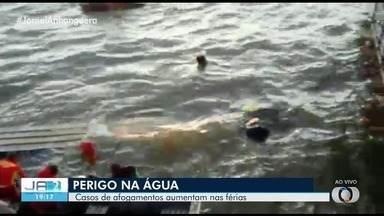 Temporada do Araguaia já tem mais mortes este ano do que a passada - Bombeiros alertam para que outros casos não aconteçam.