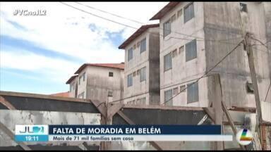 Mais de 71 mil famílias de Belém vivem em casa de parentes ou em residências precárias - O dado faz parte do levantamento feito pelo IBGE.