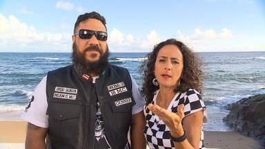 No 'Mapas Urbanos', Maria Menezes conhece uma galera que ama moto - No 'Mapas Urbanos', Maria Menezes conhece uma galera que ama moto