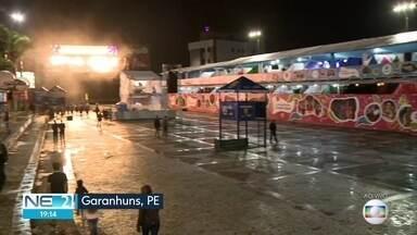 Garanhuns se prepara para a última noite de shows no Festival de Inverno - Evento contou com participação de artistas de vários gêneros musicais