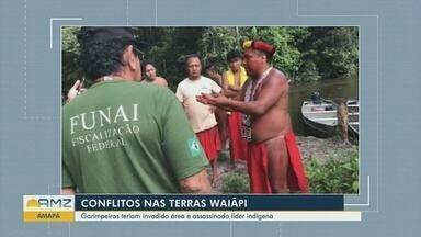 """Conflitos no Amapá: invasores usaram armas de 'grosso calibre', diz Funai em relatórios - Relatórios de servidores da Fundação Nacional do Índio (Funai) sobre a invasão das terras indígenas Waiãpi (AP) afirmam que cerca de 15 invasores passaram uma noite na aldeia Yvytotõ de forma """"impositiva"""" e """"de posse de armas de fogo de grosso calibre""""."""