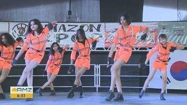 Manaus recebe concurso de K-pop - Mais de vinte grupos participaram do concurso.