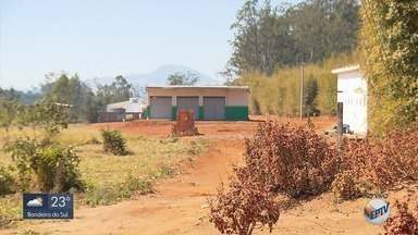 Cabine de subestação de energia é furtada na Fernão Dias, em Estiva - Cabine de subestação de energia é furtada na Fernão Dias, em Estiva