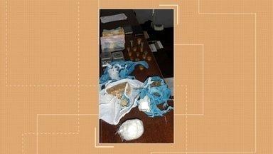 Homem é preso por tráfico de drogas em Erechim - Na residência a polícia encontrou drogas, balanças de precisão e dinheiro.