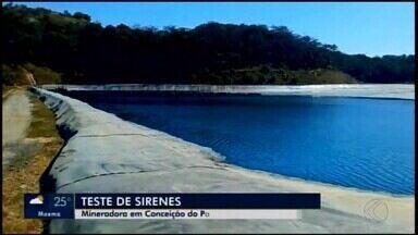 Mineradora realiza testes de sirenes em Conceição do Pará - Atividades foram programadas e são voltadas para a prevenção e alerta da população.