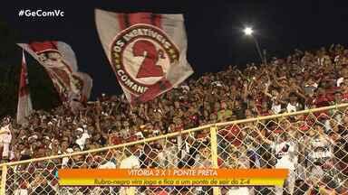 Vitória enfrenta a equipe Figueirense na terça-feira, 30 - O time embarcou para Florianópolis na manhã de segunda-feira (29).