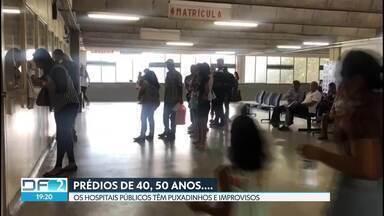 Secretária de Saúde assina contrato de R$ 50 milhões para reforma de hospitais - Vários hospitais nunca passaram por uma reforma. O Hospital Regional de Taguatinga, o maior da rede pública do DF, é um deles.
