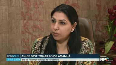 Anice Gazzaoui toma posse amanhã na Câmara de Vereadores de Foz - A solenidade está marcada para às 10 horas da manhã.