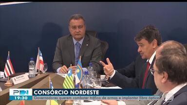 Governadores se reúnem para discutir investimentos de Consórcio Nordeste - Governadores se reúnem para discutir investimentos de consórcio Nordeste