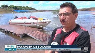 Barragem de Bocaina vira point das férias no Sul do Piauí - Barragem de Bocaina vira point das férias no Sul do Piauí