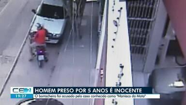 Borracheiro preso por cinco é inocentado - Confira mais notícias em g1.globo.com/ce