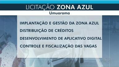 Prefeitura de Umuarama escolhe nessa quarta-feira empresa que vai administrar Zona Azul - O sistema rotativo deve voltar a funcionar, 90 dias após a assinatura do contrato.