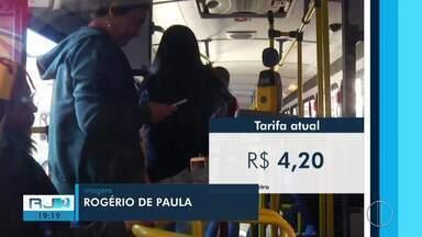 Empresas de transporte público pedem R$ 0,35 de reajuste na passagem em Petrópolis, no RJ - Aumento ainda está em discussão.