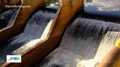 Vazão do Rio Meia Ponte cai ainda mais nos últimos dias - Alerta é ligado sobre a possibilidade de faltar água na região Metropolitana de Goiânia.