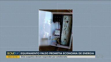 Quadrilha prometia economia de energia com equipamento falso - Fraude foi descoberta após um prejuízo milionário a Copel.