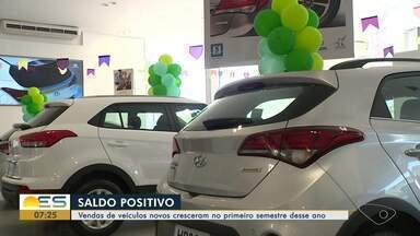 Vendas de veículos novos crescem no primeiro semestre no ES - Teve concessionária que aumentou as vendas em 20%.