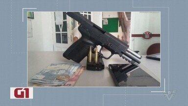 Confira as notícias de destaque do G1 Santos - Dupla é presa transportando arma e munições em Santos.
