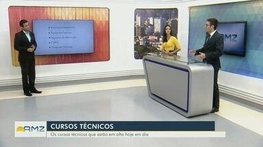 Consultor de empregos lista cursos técnicos que estão em alta - Flávio Guimarães comenta.