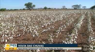 Paraíba Rural; agricultores comemoram colheita no Sertão da Paraíba - Últimos tempos não foram fáceis para os agricultores sertanejos.
