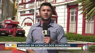 Bombeiros são presos por fraudar licenças em Campos - Operação Halligan foi conduzida pelo Ministério Público.