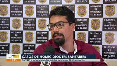 Casos de homicídios são 100% resolvidos pelas Polícias de Santarém - Há mais de uma mês não há registros de homicídios na cidade, segundo polícia civil.
