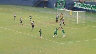 Martony recebe passe de Derlan e empata o jogo - Manaus x Sobradinho