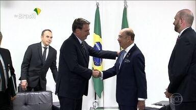 Secretário de Comércio dos EUA participa de reunião com Bolsonaro e Guedes - Na pauta, as negociações para um acordo bilateral de comércio entre Brasil e Estados Unidos.