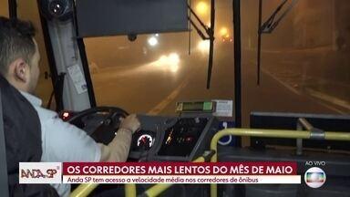 São Paulo tem corredores de ônibus com velocidade abaixo do recomendado - Corredor de ônibus Pirituba-Lapa é o mais lento de São Paulo