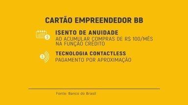 Cartão Empreendedor é ótima opção do Banco do Brasil para conseguir crédito - Aceito em milhares de estabelecimentos comerciais no Brasil e no exterior, cartão é isento de anuidade e possui tecnologia contactless, que é o pagamento por aproximação.