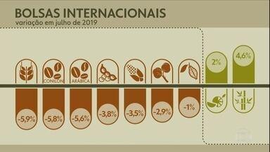 Veja as bolsas Internacionais - Variação em julho de 2019.