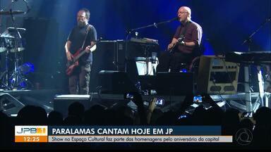 Paralamas do Sucesso se apresentam hoje em João Pessoa - Show será no Espaço Cultural.