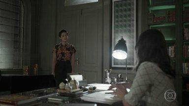 Martinha procura Lara - Ela diz que precisa falar sobre Rita