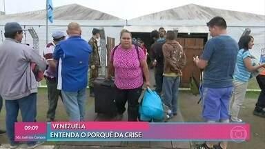 Venezuelanos enfrentam crise política e tentam refúgio no Brasil - O 'Mais Você' aborda o drama dos refugiados, que são obrigados a deixar seus próprios países e pedirem asilo longe da terra natal
