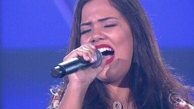 """Isabella Arantes canta """"Deixa Ela Saber"""" - Cantora escolhe ficar no time Teló"""