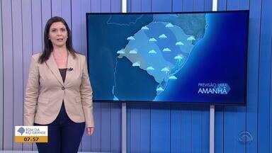 Tempo instável atinge RS e pode chover no sábado (10) no RS - Assista ao vídeo.