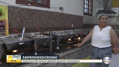 Empreendedorismo: consultora financeira ensina como separar despesas pessoais e da empresa - Dinheiro de casa não deve ser misturado com dinheiro do trabalho, segundo Luciana Bezerra.