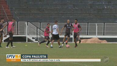 Inter de Limeira e XV de Piracicaba têm jogos nesta sexta pela Copa Paulista - Inter enfrenta o Rio Claro no Limeirão, enquanto o Quinze recebe o Atibaia.