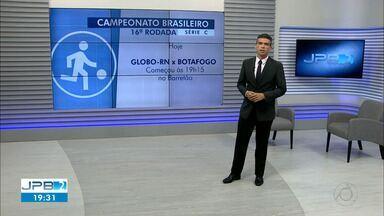 Fim de semana de rodada da Série C - Botafogo joga no RN e Treze em casa.