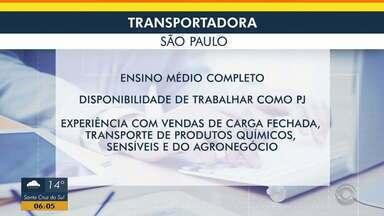 Confira oportunidade de emprego para Porto Alegre e Região Metropolitana - Assista ao vídeo.