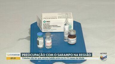 Bebês de seis meses a um ano de idade deveram se vacinar contra o sarampo - Na região: Campinas, Indaiatuba, Sumaré, Hortolândia e Ribeirão Preto estão na lista das cidades que precisaram ser vacinadas.