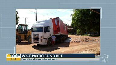 Confira a participação dos telespectadores do Bom Dia Tapajós desta segunda-feira - Veja flagrantes e denúncias na participação dos telespectadores.