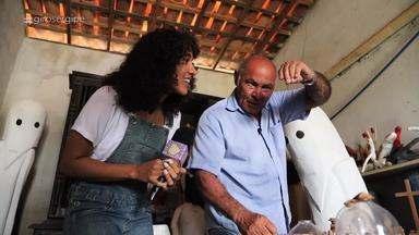 Giro Sergipe apresenta o artista plástico glorense Véio - Assista aqui