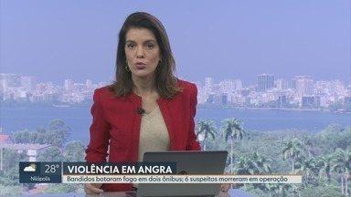 RJ1 - Edição de segunda-feira, 12/08/2019 - O telejornal, apresentado por Mariana Gross, exibe as principais notícias do Rio, com prestação de serviço e previsão do tempo.