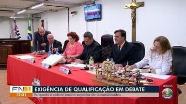 Câmara de Presidente Prudente debate situação de comissionados - Proposta é cobrar ensino superior aos ocupantes dos cargos de confiança.