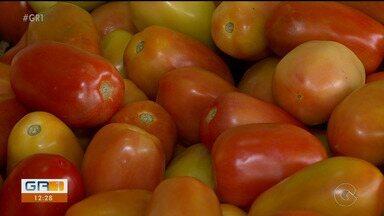 Preço do tomate cai depois de ficar em alta durante mais tempo que o comum nessa época - Uma ótima notícia para os feirantes e principalmente para os consumidores.