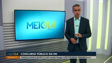 Polícia Militar do Paraná abre inscrições para concurso público - Ao todo são 110 cagas para cadete, 90 irão para a polícia militar e 20 para bombeiro militar.