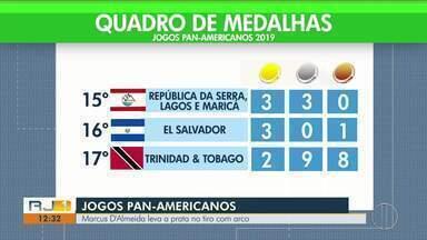 Marcus D'Almeida leva a prata nos Jogos Pan-Americanos no tiro com arco - Veja o quadro de medalhas da competição.