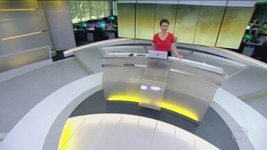 Jornal Hoje - Edição de segunda-feira, 12/08/2019 - Os destaques do dia no Brasil e no mundo, com apresentação de Sandra Annenberg.